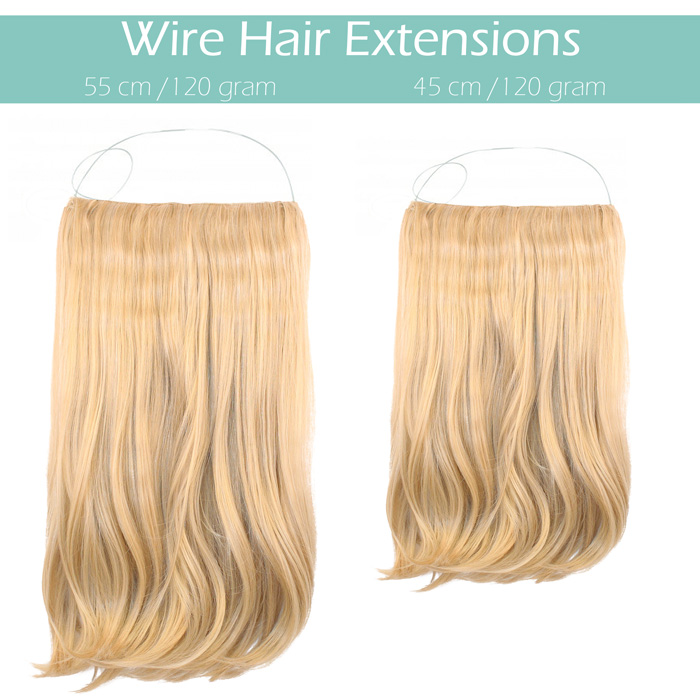 wire hair extensions flip it in 40 cm clip in. Black Bedroom Furniture Sets. Home Design Ideas